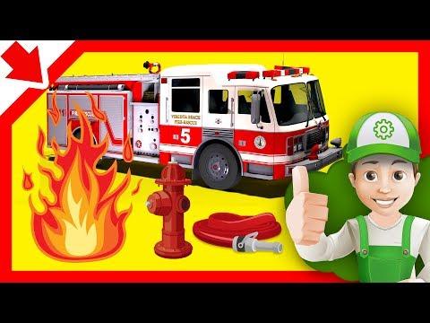 Mainan Mobil Kebakaran Mobil Kebakaran Mainan Animasi Pemadam Truk Mobil Pemadam Yang Kebakaran Youtube