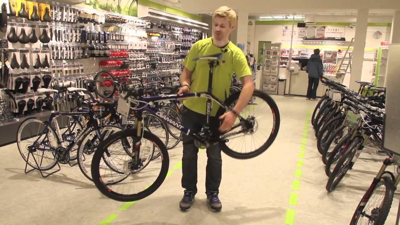velge sykkel