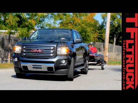 2016 Gmc Canyon Duramax Diesel Towing Preview Youtube