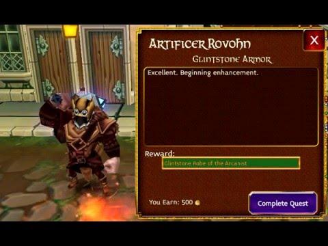 Arcane Legends * Crafting Mythic Armor Lvl 46 Mage