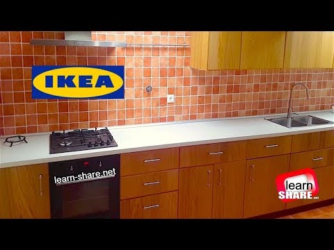 IKEA METOD Kitchen Installation in 10 minutes