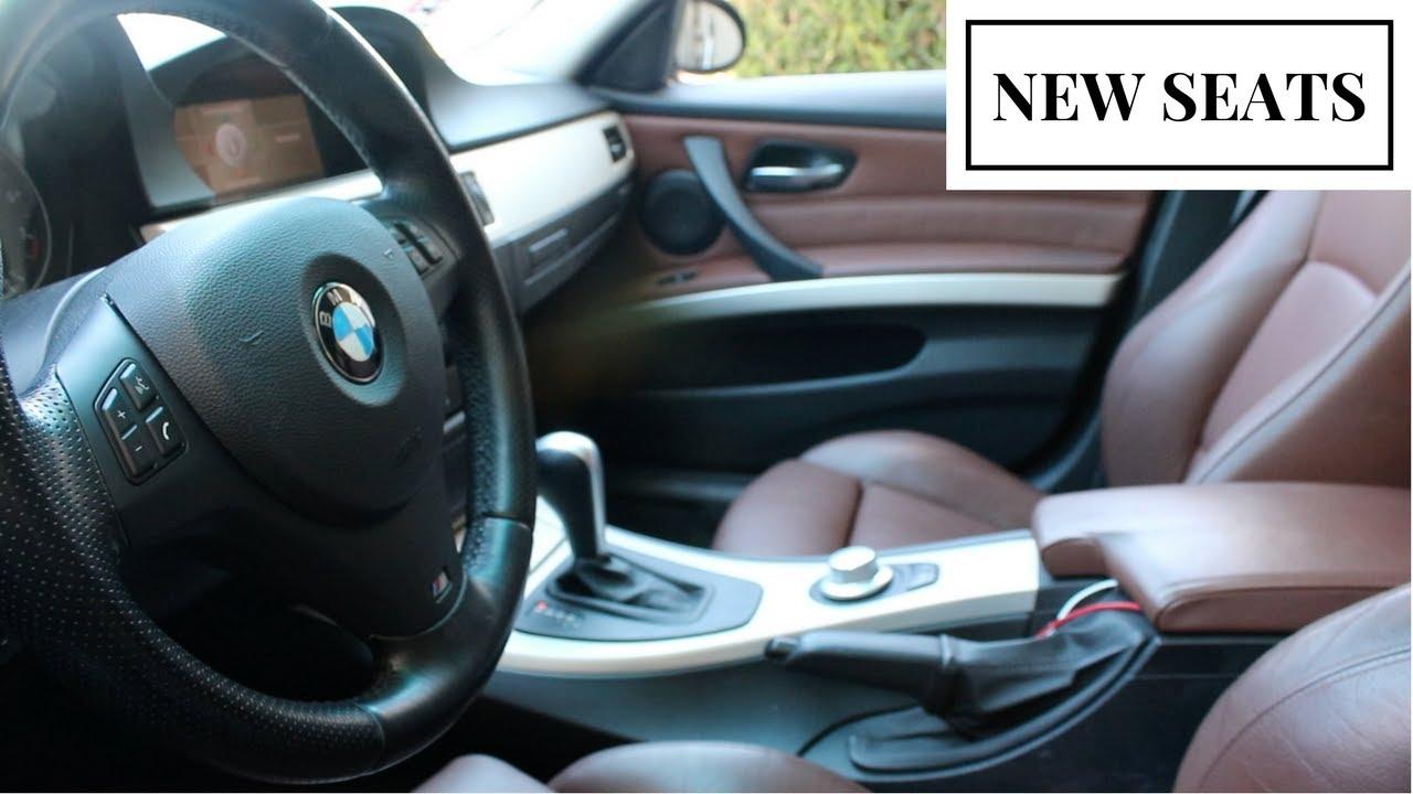 new brown bmw sport winter seats e90 e91 e92 e93. Black Bedroom Furniture Sets. Home Design Ideas