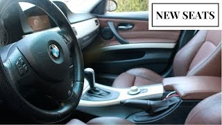 NEW BROWN BMW SPORT/WINTER SEATS (E90,E91,E92,E93)
