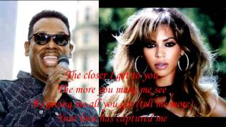 Beyoncé & Luther Vandross- The Closer I Get to You (With Lyrics)