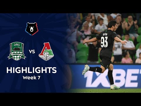 Highlights Fc Krasnodar Vs Lokomotiv 1 1 Rpl 2019 20 Youtube