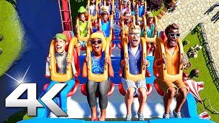 PS5 - Planet Coaster Trailer 4K (2020)