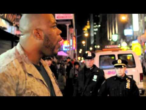 1 Marine vs. 30 Cops: Sgt. Shamar Thomas (By. J. handy)