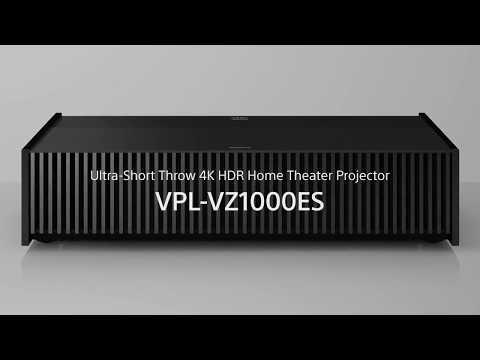 SONY VPL-VZ1000ES 4K 超短焦投影機