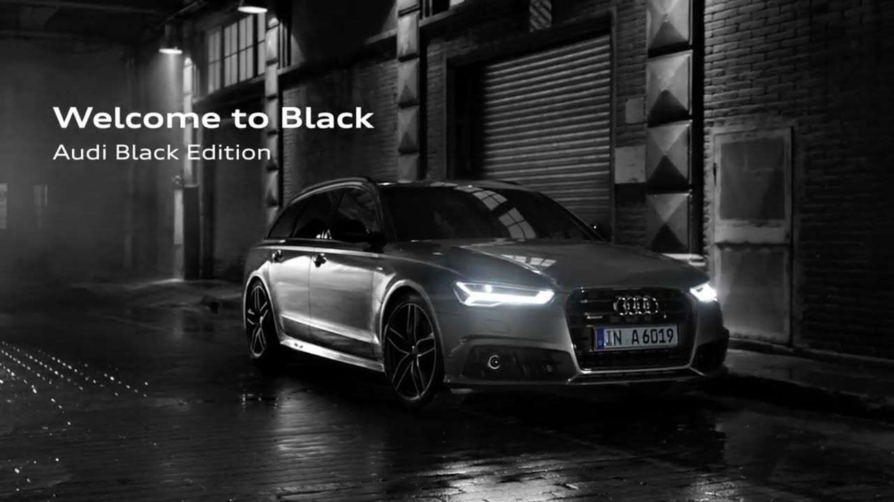 2017 audi a6 avant black edition youtube. Black Bedroom Furniture Sets. Home Design Ideas