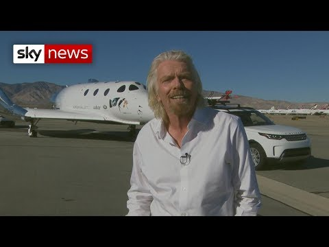 Sir Richard Branson: Space tourists are next