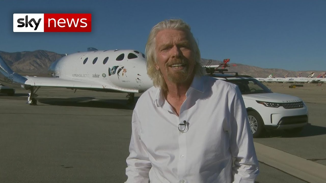 Sir Richard Branson: Space tourists are next