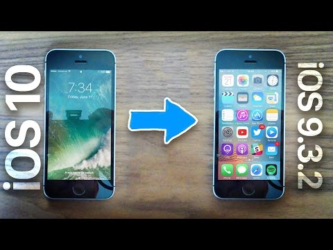 Downgrade iOS 10 to iOS 9.3.2 | Quick Tips