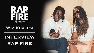 Wiz Khalifa – Interview #RAPFIRE