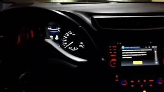 Nissan Qashqai J11 2014 скрип при повороте руля на морозе