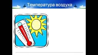 презентация что такое погода