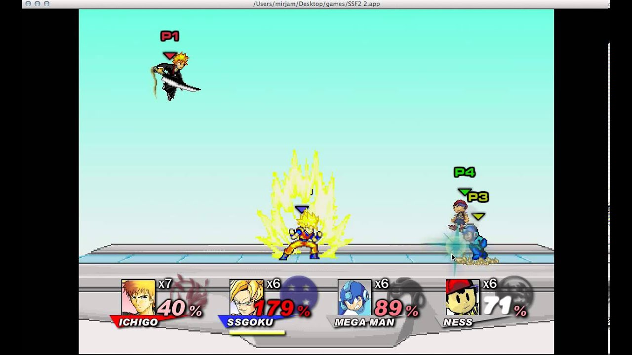 Super Smash Flash 2 Multiplayer
