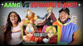 "Death Battle! ""Aang VS Edward Elric (Avatar VS Fullmetal Alchemist)"" REACTION!!!"
