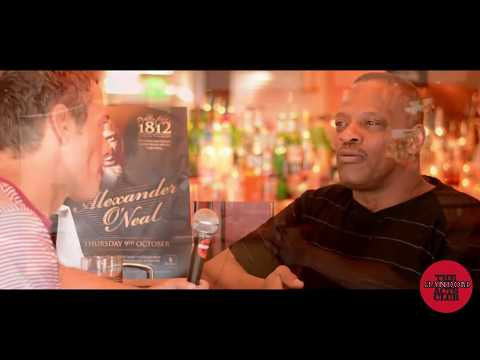 Alexander O'Neal interview with The Random Acts Club