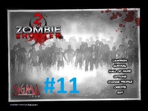Zombie Shooter - 2 Walkthrough Mission 11 With Secrets |