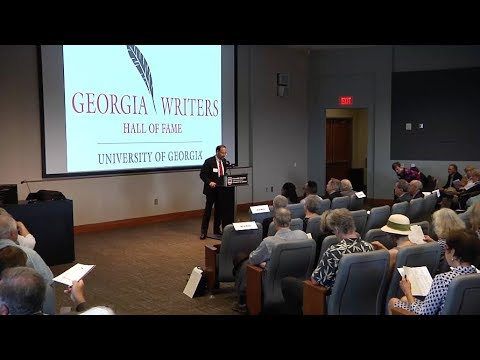 2017 Georgia Writers Hall of Fame Induction Ceremony