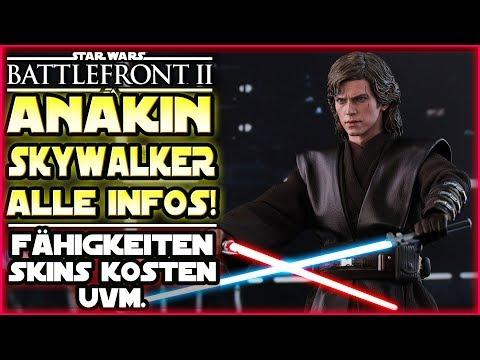 Alle Infos zu Anakin Skywalker! - Fähigkeiten Kosten Skins Emotes & mehr! Star Wars Battlefront 2 thumbnail