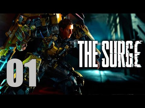 The Surge - Let's Play Part 1: First Day on the Job