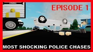 ROBLOX Most Shocking Police Chases (Episode 1) (Court TV Parodie)