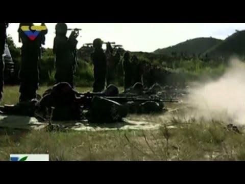 """Venezuela despliega tropas ante """"amenaza"""" de Trump"""