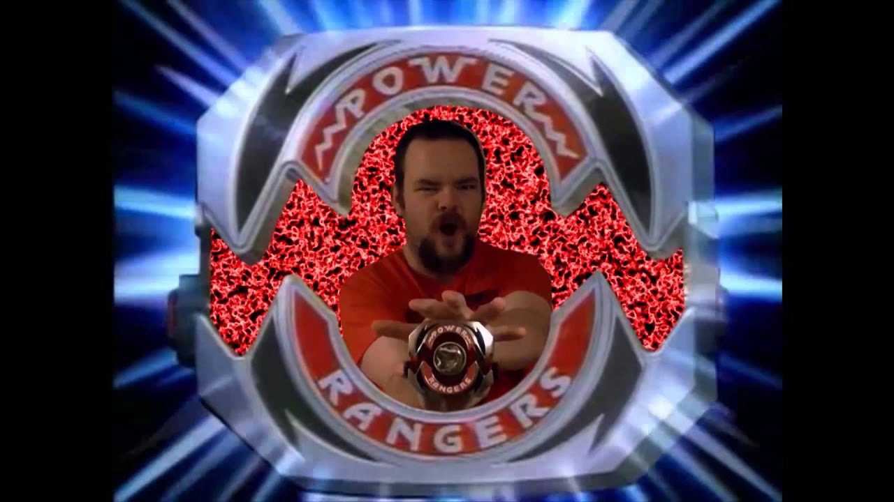 mighty morphin' power rangers - red ranger morph (legacy morpher