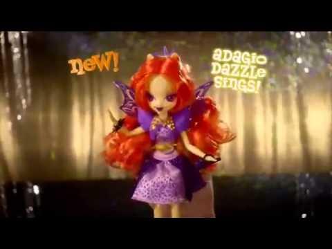 Singing Adagio Dazzle Doll & Twilight Sparkle - Rainbow Rocks - Equestria Girls - My Little Pony