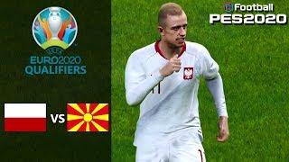 Poland vs North Macedonia - EURO 2020 Qualifiers Prediction - PES 2020