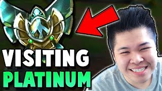 CHALLENGER JUNGLE VISITS PLATINUM FOR THE FIRST TIME.. - Unranked to Challenger