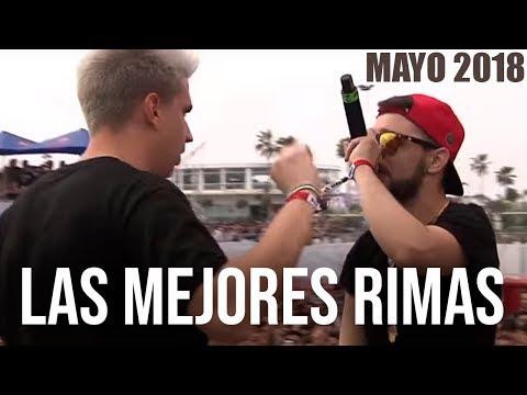 Las MEJORES RIMAS del MES - MAYO 2018 | Batallas de Gallos (Freestyle Rap)