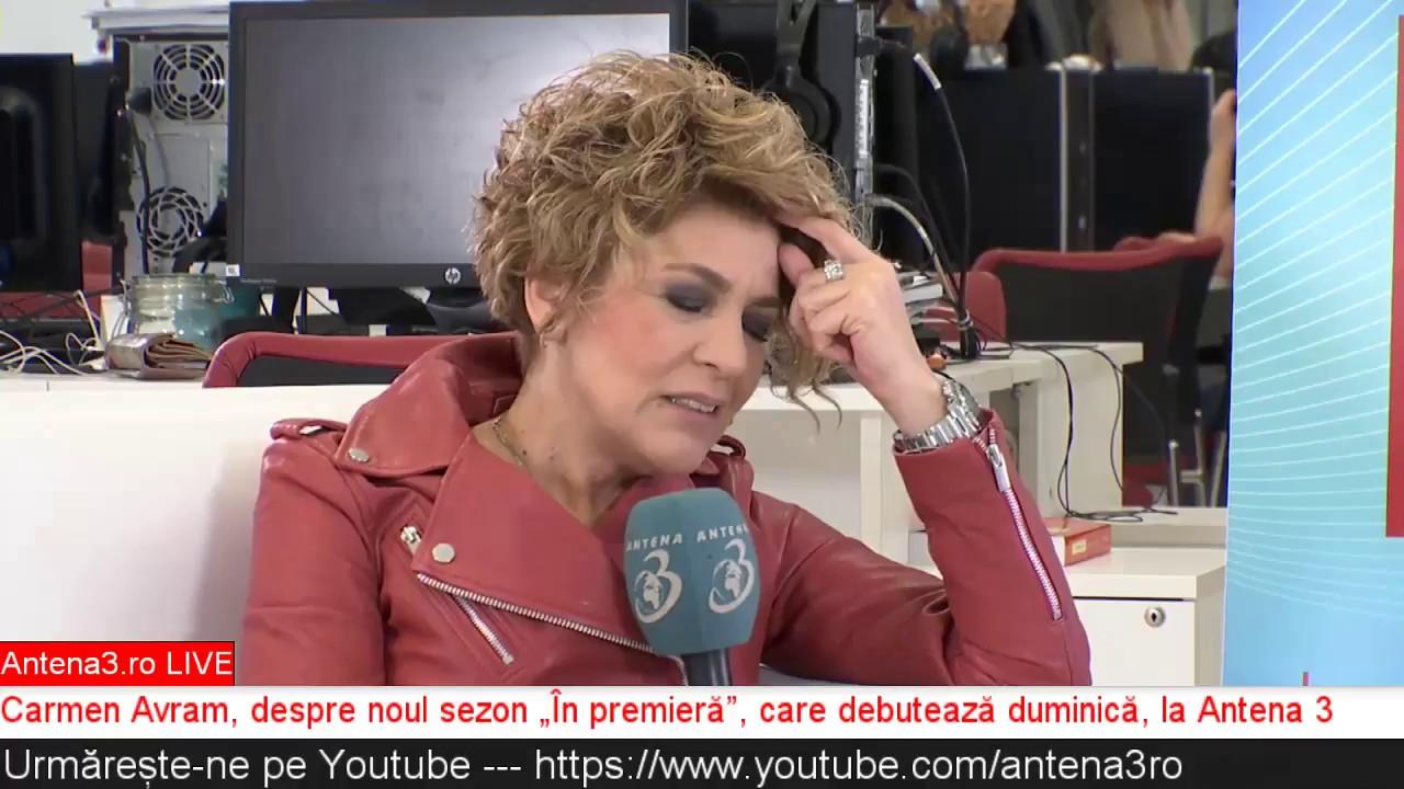 Antena3 ro LIVE: Carmen Avram ne povestește despre noul sezon În premieră
