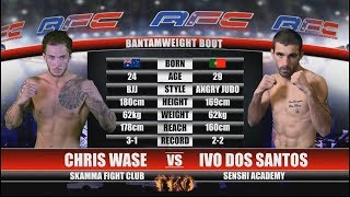 AFC 15 - Bout No.2 - Chris Wase Vs Ivo Dos Santos - MMA Fight