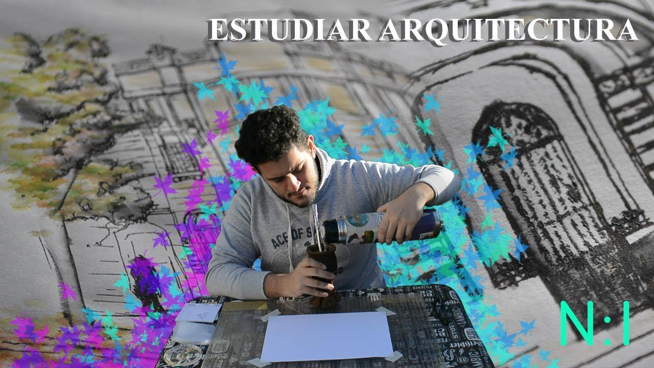NO TODO SON PLANOS - Realizar un dibujo/sketch intencionado y libre - ESTUDIAR ARQUITECTURA #1