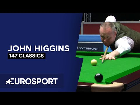 147 Classics: John Higgins | Snooker | Eurosport from YouTube · Duration:  12 minutes 3 seconds