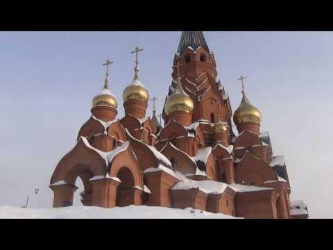 Крещение 19 января 2014 год Крестовоздвиженский собор и Новоенисейский собор Лесосибирск