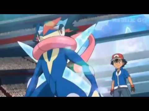 Pokemon XYZ nederlands liedje ash en Greninja