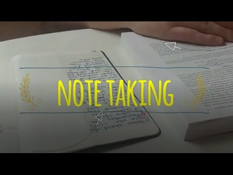 research paper note taking