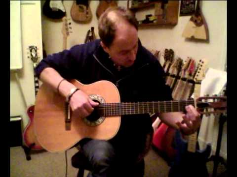 Jon Beedle acoustic guitar lesson - Blue Moon