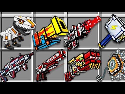 PIXEL GUN 3D w MINECRAFT - NOWE BOSSY POTWORY I BRONIE