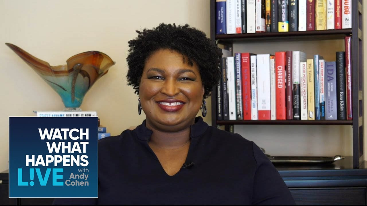 Stacey Abrams Breaks Down Voter Suppression | WWHL