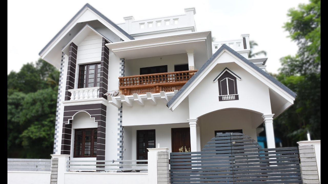 Kalady 5 cents plot and 1800 sq ft beautiful house for for Best windows for new home construction