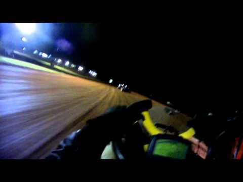 Montgomery dirt track stock light heat race 9/24/11