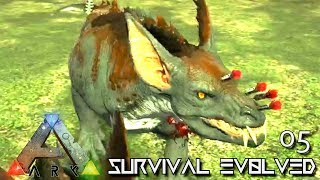 ARK: ABERRATION - PERFECT 150 RAVAGER & GAS BALLS E05 ( GAMEPLAY ARK: SURVIVAL EVOLVED ) !!!