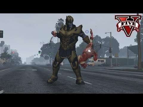GTA 5 Mod Adds Thanos From Avengers: Endgame as a Playable