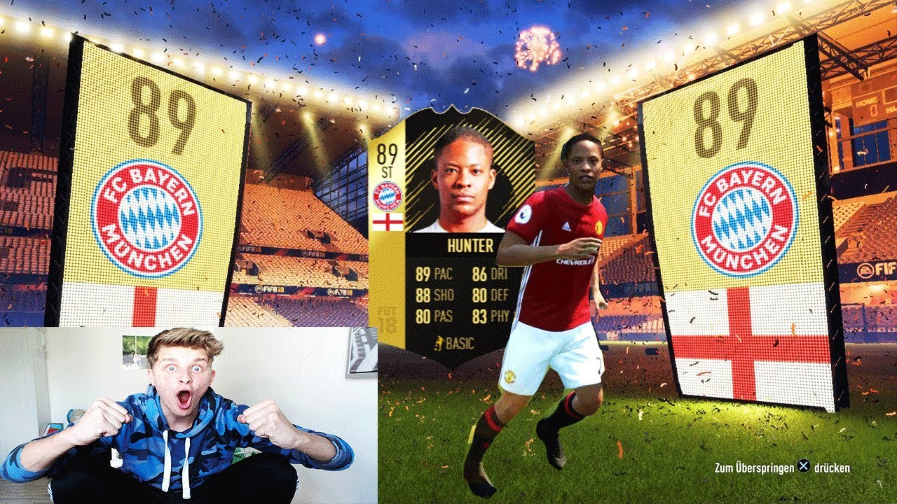 Fifa 18 Inform Alex Hunter In Ultimate Team Buy First Guy