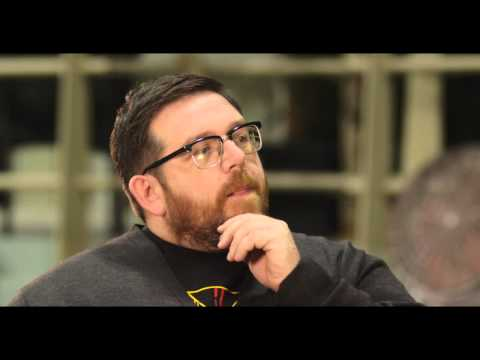 "Unfinished Business: Nick Frost ""Bill Whilmsley"" Behind the Scenes Movie Interview"