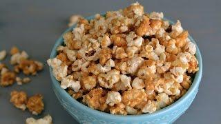 Receta de Crispetas de Caramelo | Cómo Hacer Palomitas de Maíz de Caramelo | SyS